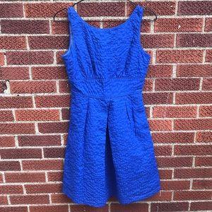 JCREW factory deco dot shift dress